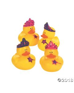 Princess Rubber Duckies