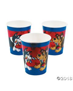 Puppy Paper Cups