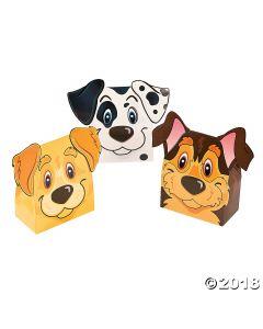 Puppy Party Favor Boxes