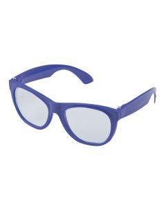 Purple Clear Lens Glasses - 12 Pc.