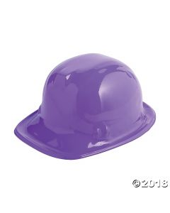 Purple Construction Hats