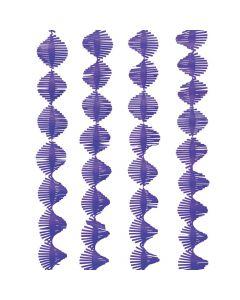 Purple Fringe Streamer