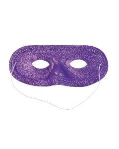 Purple Glitter Masks