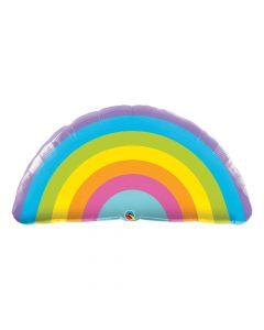 Radiant Rainbow Mylar Balloon