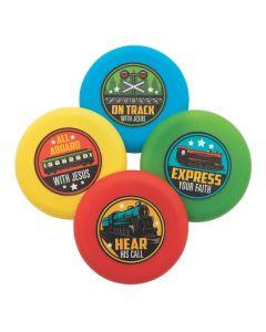 Railroad VBS Mini Flying Discs