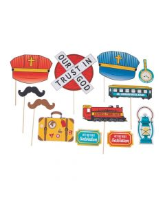 Railroad VBS Photo Booth Props
