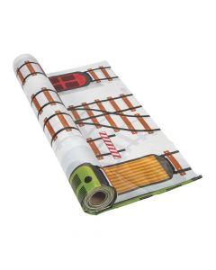 Railroad VBS Plastic Tablecloth Roll