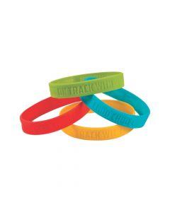 Railroad VBS Rubber Bracelets