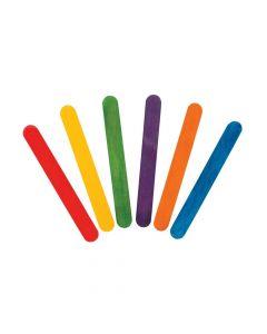 Rainbow Craft Sticks