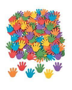 Rainbow Hand Self-Adhesive Shapes
