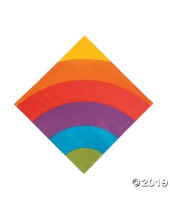 Rainbow Party Lunch Paper Napkins