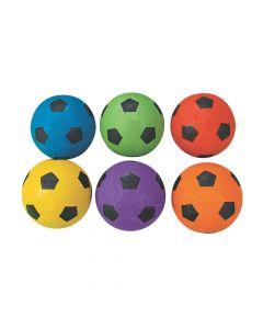 Rainbow Soccer Balls
