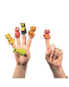 Rainforest Friends Finger Puppets