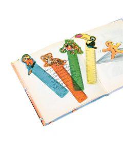 "Rainforest Friends"" Ruler Bookmarks"