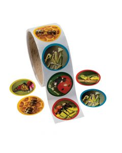 Realistic Bug Stickers