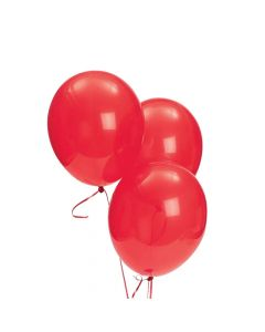 """Red 9"""" Latex Balloons"""