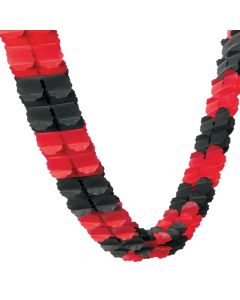Red and Black Garland