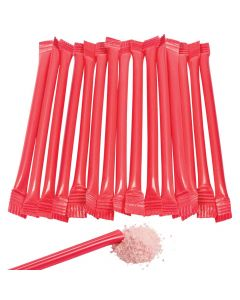Red Candy-Filled Straws