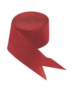 Red Crepe Paper Streamers