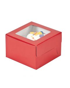 Red Cupcake Boxes