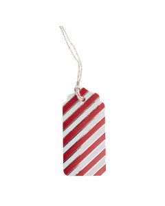 Red & Gold Christmas Gift Tag