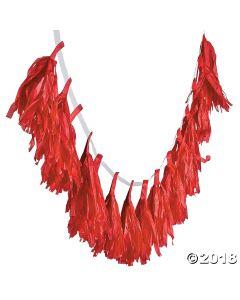 Red Tassel Garland