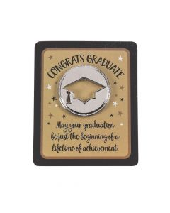 Religious Graduation Tokens with Card