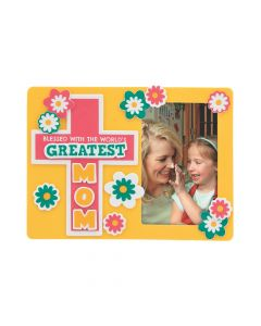 Religious Mother's Day Picture Frame Magnet Craft Kit