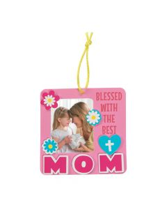 Religious Mother's Day Picture Frame Ornament Craft Kit