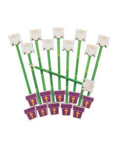 Religious Spring Pencils