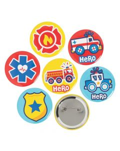 Rescue Heroes Buttons