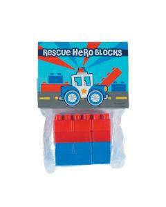Rescue Heroes Color Brick Packs