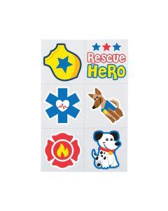 Rescue Heroes Temporary Tattoos