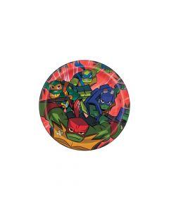 Rise of the Teenage Mutant Ninja Turtles Paper Dessert Plates
