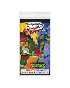 Rise of the Teenage Mutant Ninja Turtles Plastic Tablecloth