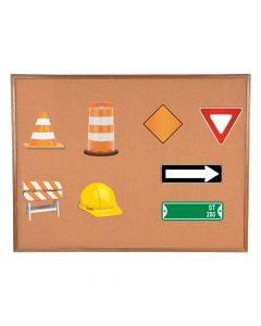 Road Construction Bulletin Board Cutouts