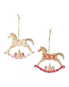 Rocking Horse Ornaments