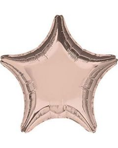 Rose Gold Star Balloon