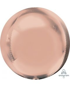 Rose Gols Orbz Balloon
