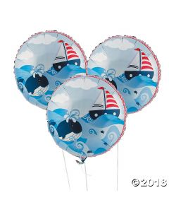 Sailor Mylar Balloons