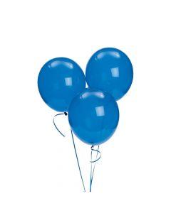 "Sapphire Blue 11"" Latex Balloons"