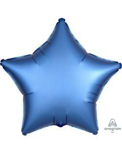 Satin Luxe Azure Star Foil Balloon