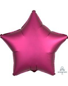 Satin Luxe Pomegranate Star Foil Balloon