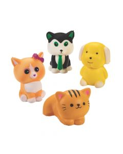 Scented Cat and Dog Slow-Rising Squishies