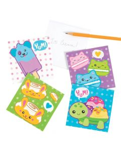 Scented Foodimals Notepads