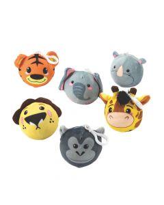 Scented Zoo Animal Squishy Keychain Assortment