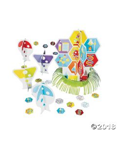 Science Party Table Decor Kit
