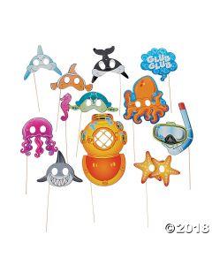 Sea Life Photo Stick Props