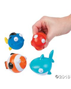 Sea Life Stress Toys