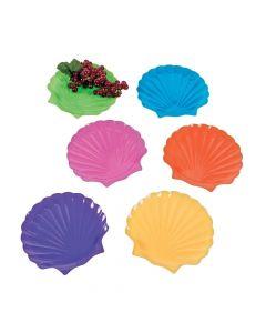 Sea Shell Shaped Plates